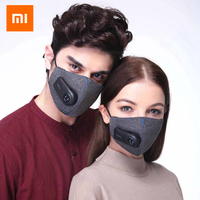 Xiaomi Purely KN95 Anti Pollution Air Mask with PM2.5 550mAh Battreies Rechargeable Filter Three dimensional for Personal Care