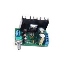 1 pces tda2050 dc 12 24 v 5 w 120 w 1 canal placa de amplificador de potência de áudio