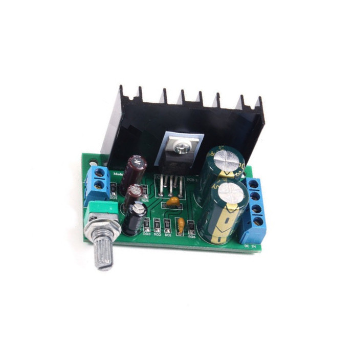 1PCS TDA2050 DC 12-24V 5W-120W 1 Channel Audio Power Amplifier Board