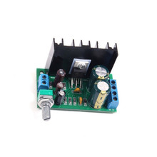 1PCS TDA2050 DC 12 24V 5W 120W 1 Channel Audio Power Amplifier Board