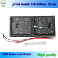 p5 led module smd indoor fullcolor 320mm*160 mm 64x32dots high resolution led matrix display module dhl-freeshipping