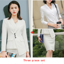 2019 Business Office Work Blazer Suits of High Quality OL Women Pants & Falda