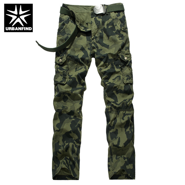 Man Spring Autumn Casual Comfortable Clothing No Belt Men Military Cargo Pants Hot Selling Trousers Size 29-38