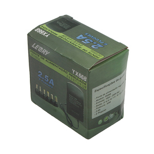 Image 5 - LEORY DC3 12V 可変電圧電源アダプタユニバーサル AC アダプタ 2.5A 30 ワット 3 V 4.5 V 6 V 7.5 V 9 V 12 V 6 · イン · 1 電源充電器