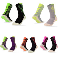 Men Deporte Baloncesto Socks Summer Silicone Non Slip Floor Socks Calcetin De Futbol Compression Socks Antibacterial