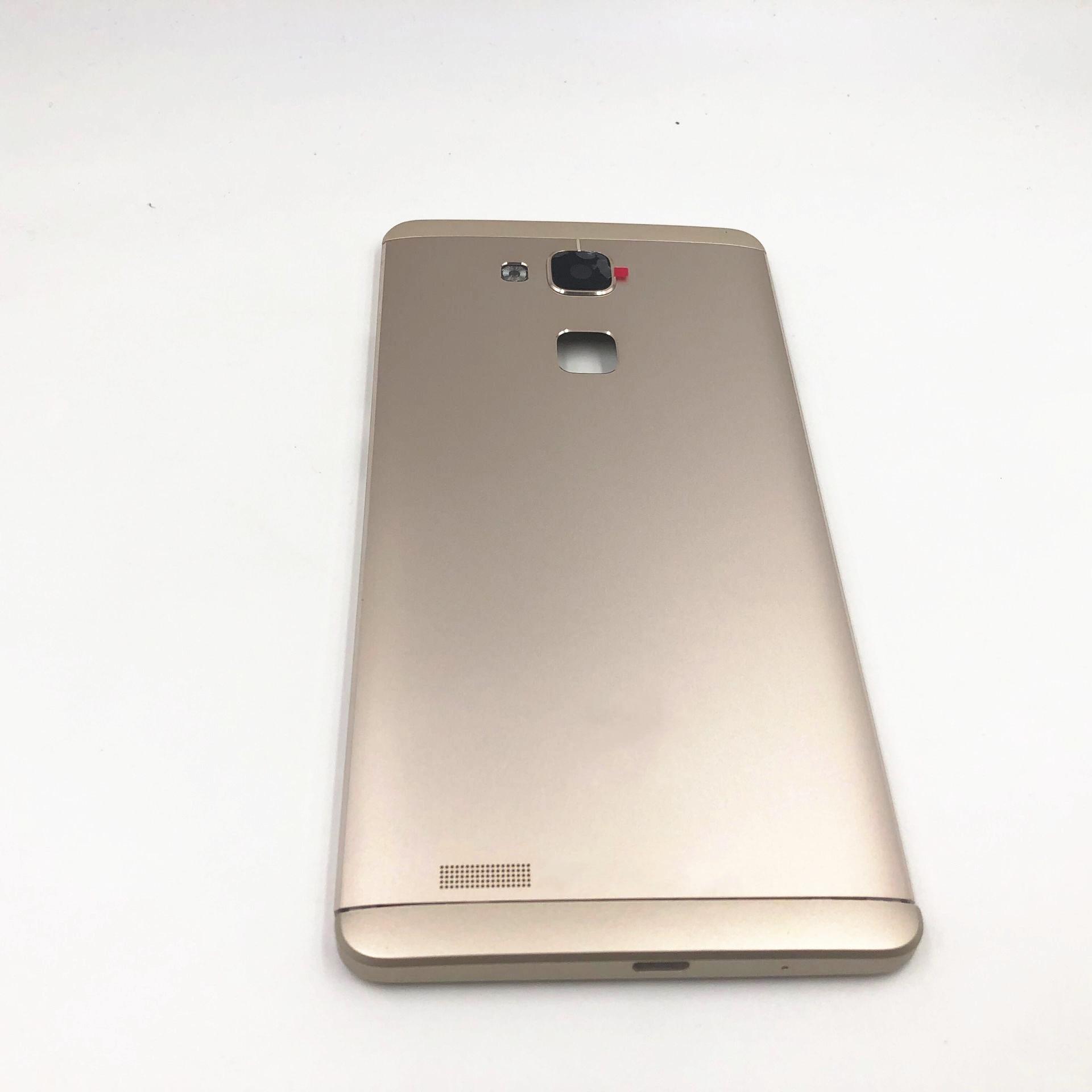 RTBESTOYZ 新バッテリードア裏表紙ハウジングケース Huawei 社メイト 7 Mate7 とカメラレンズ + 電源ボリュームボタン