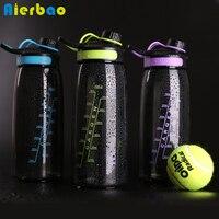 900ml Big Capacity Water Bottle Portable Sports Water Bottle Food Grade Plastic BPA Free