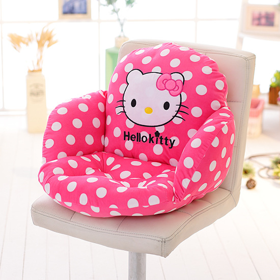 <font><b>Home</b></font> Textile Lovely Hello Kitty Cartoon Pattern Seat and Back <font><b>Cushions</b></font> <font><b>Home</b></font> Decor Fashion Comfortable Throw High Quality Hot!
