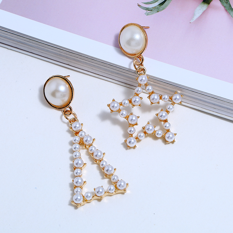 Pearl Drop Earrings (6)