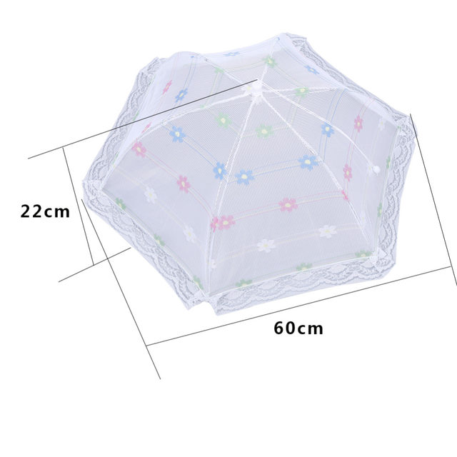 Hexagon Gauze Food Cover Umbrella Design Anti Fly Mosquito Net Tent Meal Cover Picnic Table Mesh Food Cover Kitchen Gadgets  sc 1 st  Aliexpress & Online Shop Hexagon Gauze Food Cover Umbrella Design Anti Fly ...