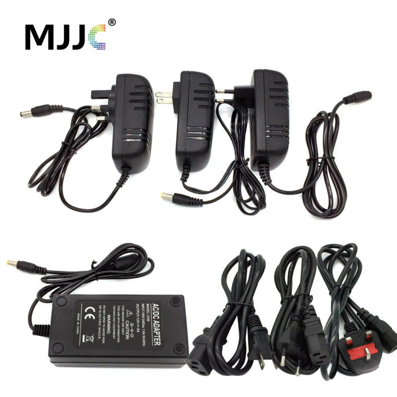 Fuente de alimentación LED 12V DC 1A 2A 3A 5A 8A 10A 15A Adaptador de corriente 110V 220V AC a 12 voltios DC para CCTV LED Strip Light EU US UK