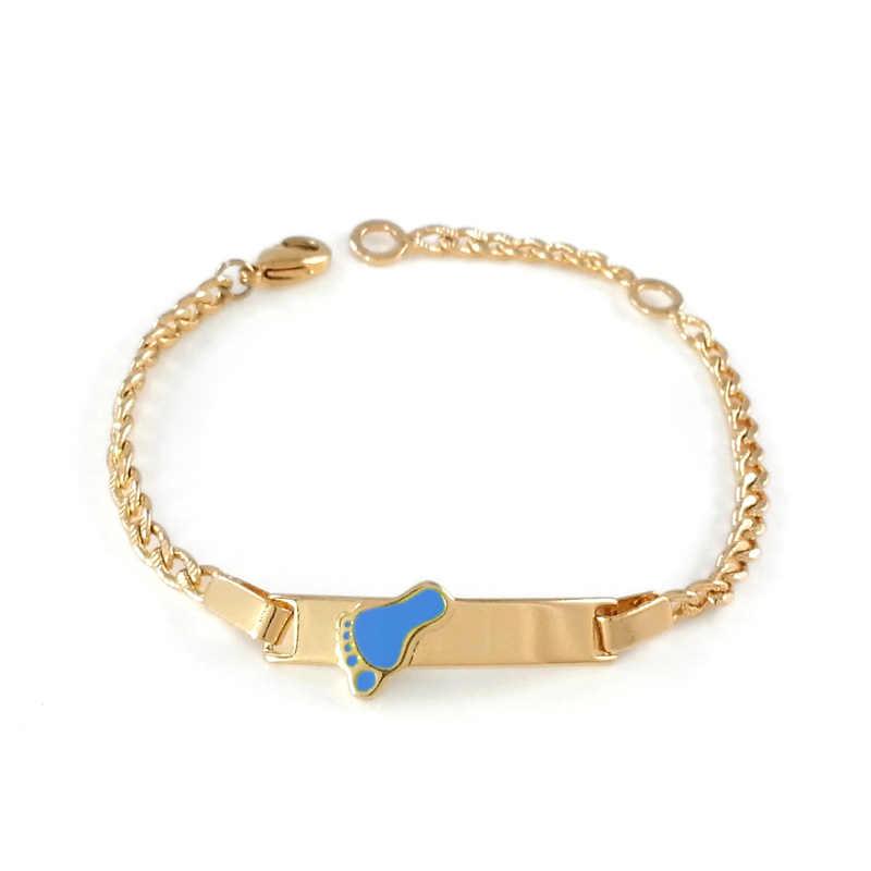 e373076c7031 ... Baby Bracelets Kids Jewelry Pulsera Bebe Pulseiras Bracelete Bracciali  Nina Armband Braclet Gold Bangles Women Bileklik ...