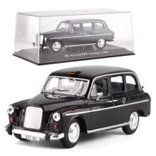 1:43 Logam Logam Alloy Klasik Fiat Ford Taksi Taksi Mobil Truk Model Diecast Paduan Auto Kendaraan Mainan untuk Koleksi Hadiah