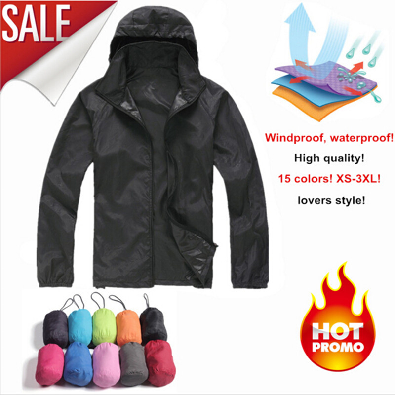 Outdoor Waterproof Jacket Windbreaker Sun-Protection Travel Anti-Uv Hiking Women Ultra-Thin
