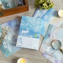 30 Pcs/box Cute Luminous deer greeting card blessing card message cards birthday card  postcard gift цена