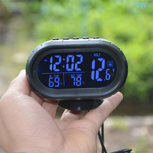 Automotive electronic clock car thermometer accessories within luminous watches and clocks, auto supplies stores