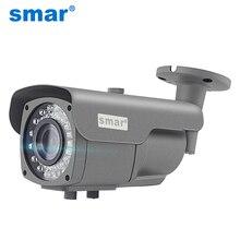 Smar onvifセキュリティhd ipカメラ720p 960 1080p 1080 1080p屋外防水cctv弾丸カメラ4Xズーム2.8 12ミリメートルマニュアルバリフォーカルレンズ