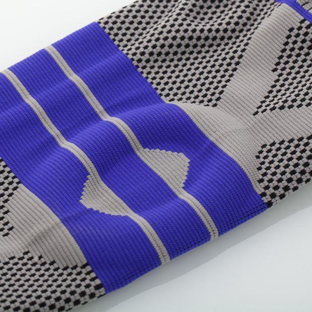 S-5XL Plus Größe Basketball Unterstützung Silicon Padded Knie Pads Unterstützung Klammer Patella Schutz Schutz Kneepad Für Fett Person