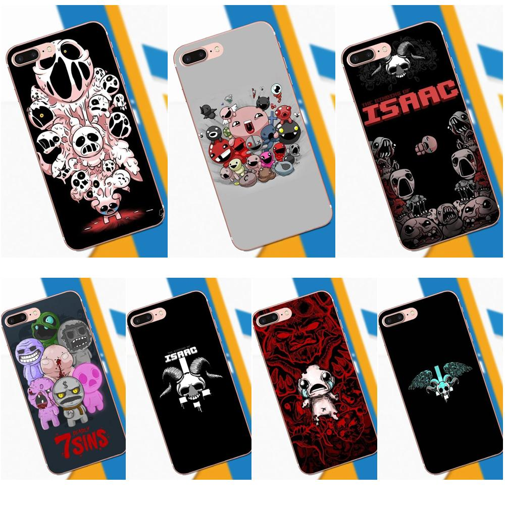 Diy Painted Game The Binding Of Isaac For Xiaomi Mi3 Mi4 Mi4C Mi4i Mi5 Mi 5S 5X 6 6X 8 SE A1 Max Mix 2 Note 3 4