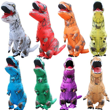 Cosplay Halloween Party Game Adult Children Inflatable Suit Tyrannosaurus Rex Dinosaur Inflatable Clothes Show Props cosplay halloween party game adult children inflatable suit tyrannosaurus rex dinosaur inflatable clothes show props