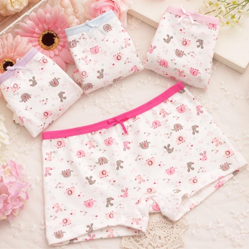 Baby Girls Soft Underwear Cotton Panties For Girls Kids Short Briefs Children Underpants 1PCS