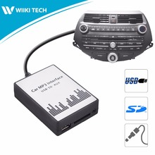 APPS2Car Car Radio USB SD AUX Interface Digital Music Changer Mp3 Adapter for Honda Accord 2003-2011 fits selected OEM Radios