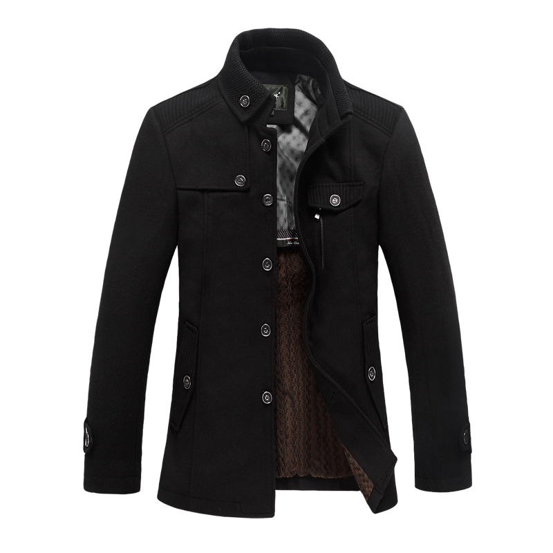 Popular Men&39s Winter Pea Coats-Buy Cheap Men&39s Winter Pea