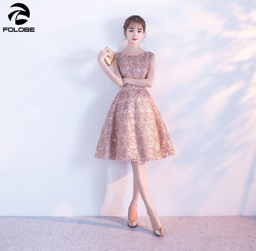 FOLOBE Fashion Elegant Party Dress Women Sleeveless Dress Female Floral Lace Women Dress Casual Slim Lady