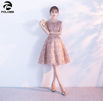 b316493df2 FOLOBE moda elegante vestido de fiesta mujeres sin mangas vestido de encaje  Floral femenino vestido de mujer Casual delgado vestido de señora