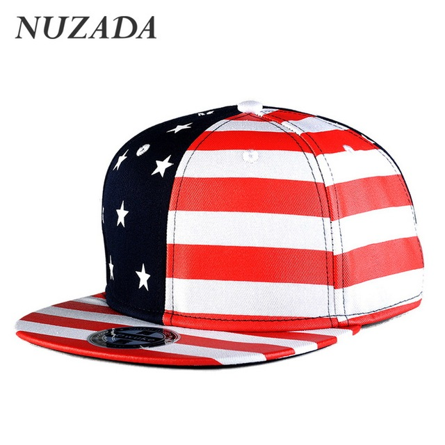 Brands NUZADA Snapback  Sports Hip Hop Hats Fashion Men Women Baseball Caps Bone Cap Classic Color Stars Stripes jt-006