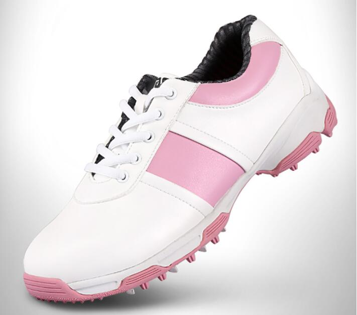 2017 PGM womens genuine leather golf shoes spikes ultra soft super breathable waterproof golf shoes,Free shipping pgm men professional golf shoes male cowhide genuine leather non spikes ultra light super soft waterproof casual golf sneakers