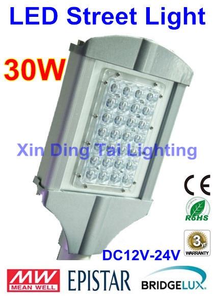 где купить 10pcs/lot DC12V led street light 30W Solar led street lamp 2 years Warranty дешево