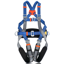 Check Price Fall protection adjustable size full body safety harness Oumers Safe Belts Guide Harness For Outward Band Expanding Training