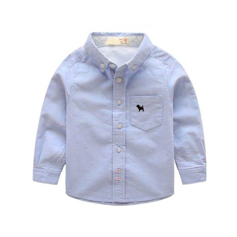 Anak laki-laki Kemeja Katun Fashion Anak-anak Pakaian Kualitas Tinggi  Seragam Sekolah Kemeja 2016 Merek Boy Kemeja Musim Semi Musim Gugur Pakaian  Anak-anak 6bd4715459