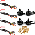 4x Original EMAX MT2204 2300KV Motor &	BLHeli Series 12A ESC & 12 pairs Connector for Mini Multirotor Quadcopter QAV250 300