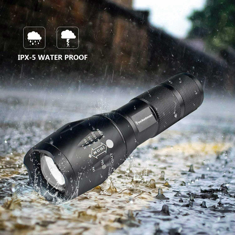 Ultra מואר 12000 LM Led פנס פנס led לפיד T6/L2/V6 5 מתג מצבי Zoomable אופניים אור להשתמש 18650 סוללה