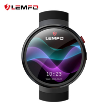LEMFO LEM7 Smart Watch Android 7.0 Smartwatch LTE 4G Smart Watch Phone Heart Rate 1GB + 16GB Memory with Camera Translation tool