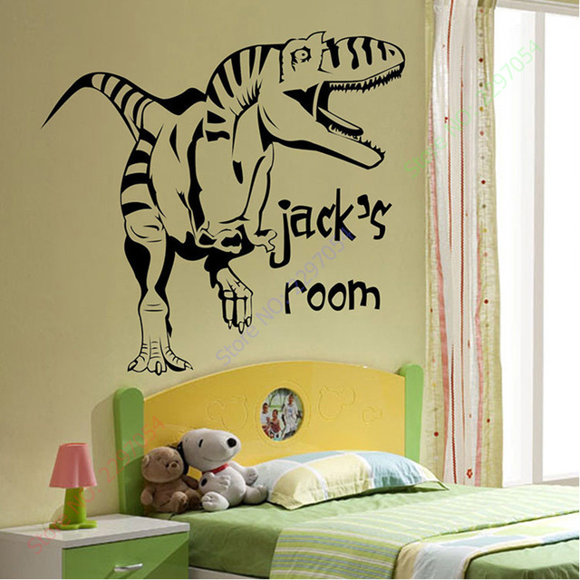 Cartoon Removable Vinyl Wall Stickers for Kids Rooms Personalised ...