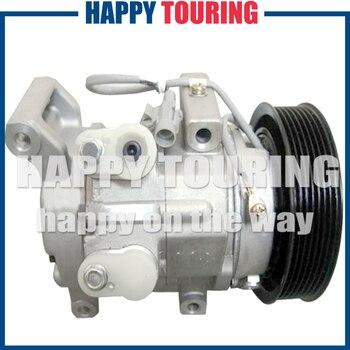 Samochód sprężarki AC dla Toyota Hilux Vigo odbioru oleju napędowego TGN GGN LAN GGN KUN 2004 88320-0K080 88310-0K132 88310-0K131 88320-0K240