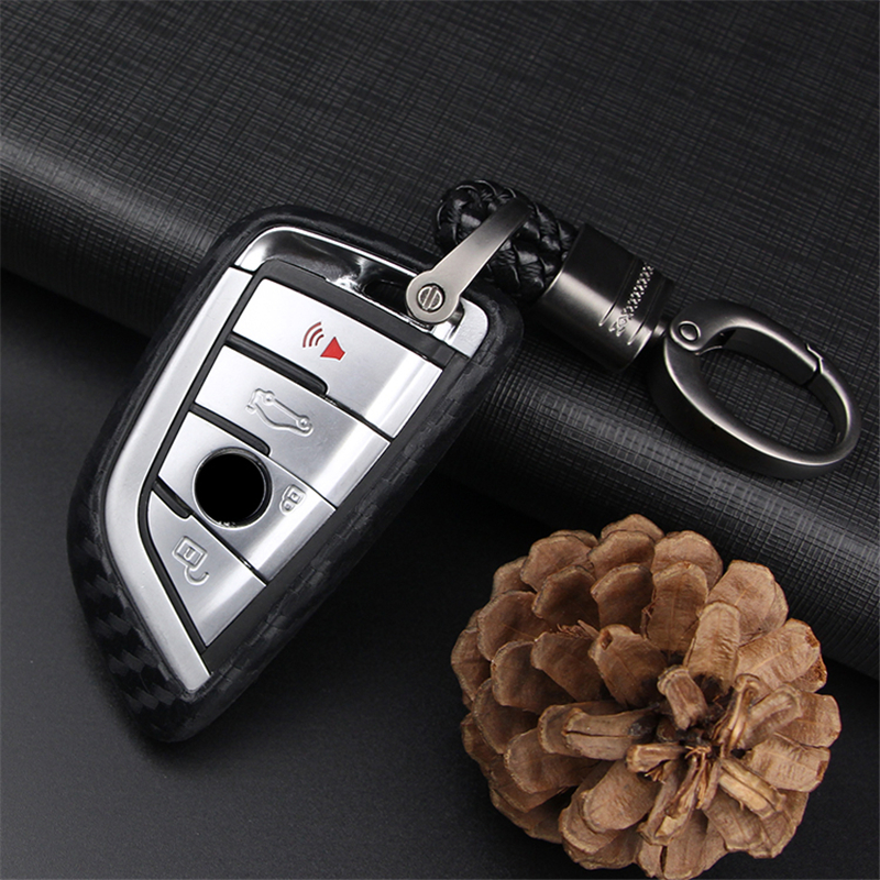 Car Keyring Key Case Cover For Bmw X1 F48 X3 E83 X5 E53 X6 2018 525i