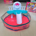 Dollhouse Furniture Water Fountain Summer Resorts Beach Swimming Pool Play SET For Barbie Doll Toy