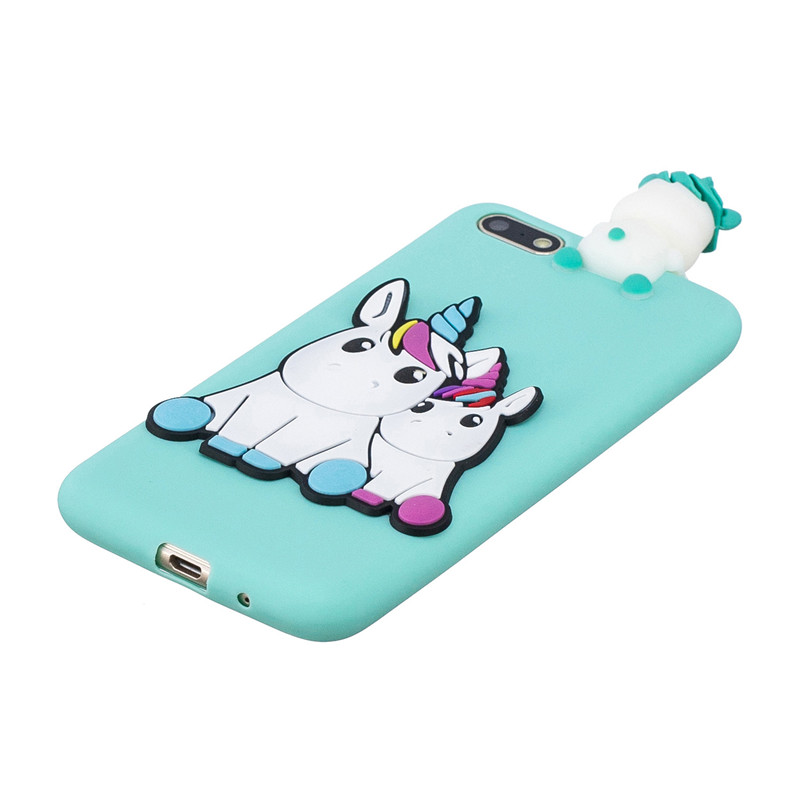 Image 4 - Huawei Y5 Lite 2018 Case on for Coque Huawei Y 5 Y5 Lite 2018 case cover Cartoon 3D Doll Toys Soft Silicone Phone Case Women Men-in Fitted Cases from Cellphones & Telecommunications