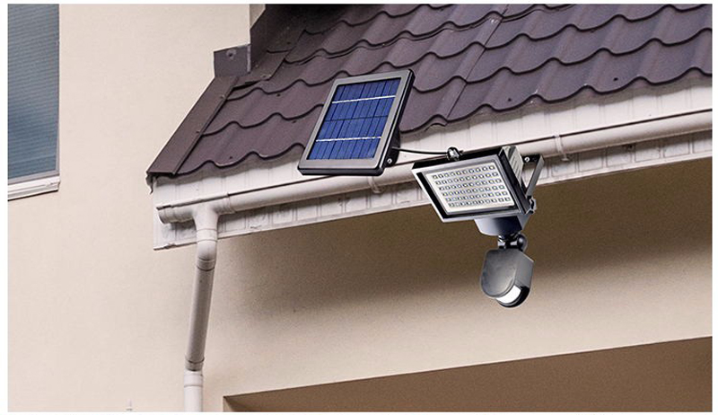 New Garden Solar Light with Motion Sensor Lamp 60Leds Solar Panel Led Lamp Waterproof Outdoor Solar Floodlights Spotlights Luces (11)