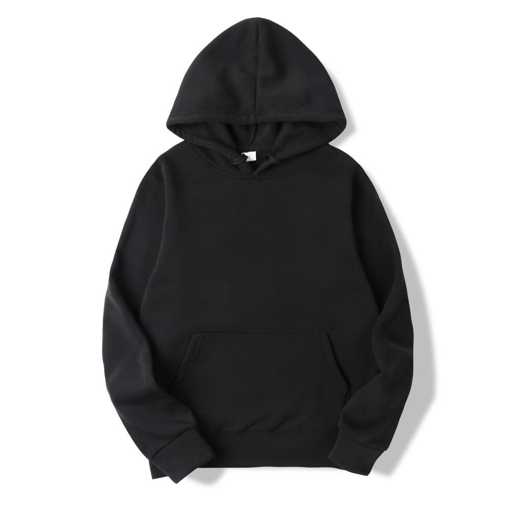 Casual Hip Hop Sweatshirts Skateboard Men/Woman Pullover Hoodie 1