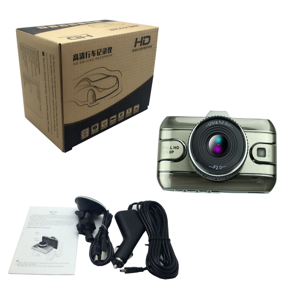 Image 5 - Driving recorder 3 Inch Car Dvr Camera Full HD1080P Car Video Recorder Loop Recording Dash Cam Night Vision Car Camera DashCam-in DVR/Dash Camera from Automobiles & Motorcycles