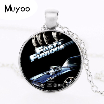 2017 new hot Fashion Vintage Fast and Furious Choker Necklace Gold and Round Bijoux Dominique. Mr and Cars Long Necklace HZ1 image