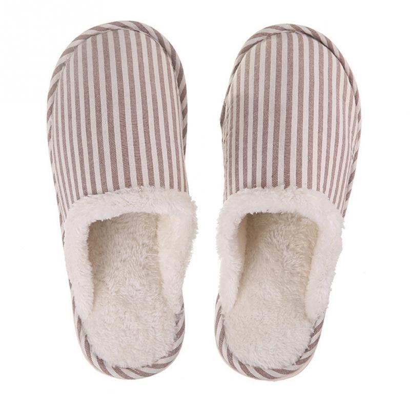 large Size 36-43 Hot Women Men Couples Slippers Fashion Autumn Winter New Plush Slippers Faux Fur Slides Flip Flops #12 xiaokaixin winter home couples slippers large size women