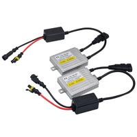 2Pcs AC 55W Fast Bright HID Ballast F5 Quick Start Xenon Ballast For Xenon HID Lamp
