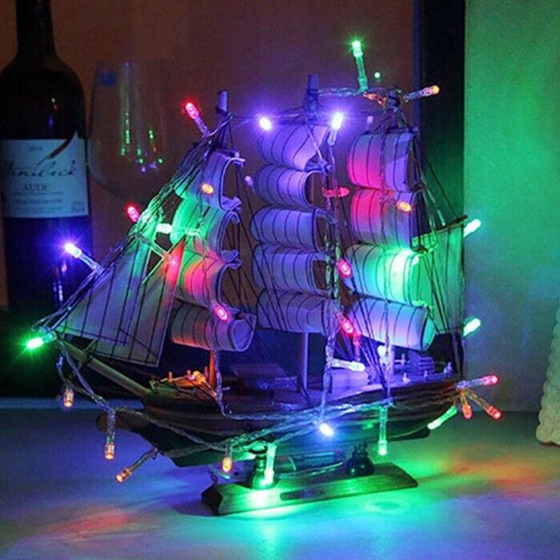 m leds con pilas llev cadena de luces de navidad decoracin de la boda