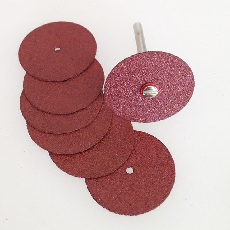 36 piezas discos de lijado rueda de lijado cuchillas rotativas dremel mini herramientas de disco de corte accesorios giratorios arena metal